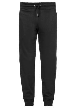 Drawstring Sweat Pants - Black