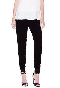 Rumdi Velvet Pants - Black