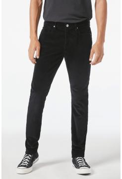 L'Homme Slim Corduroy Jeans - Noir Black