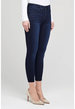 Margot Skinny High Rise Jeans - Marino Blue
