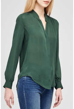 L AGENCE BIANCA BLOUSE