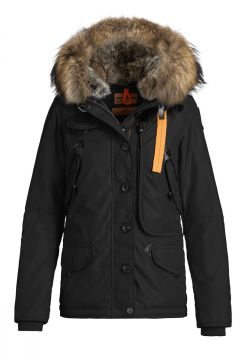 Dorris Down Hooded Jacket - Black