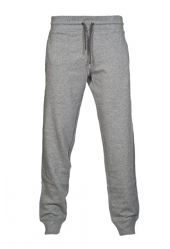 Drawstring Sweat Pants - Grey Melange