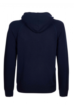 Knitted Hoody - Navy