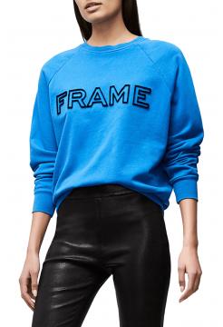 FRAME Raglan Sweatshirt - Coastal Blue