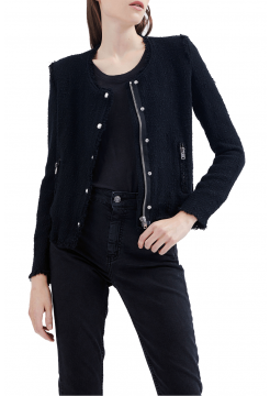 Agnette Cotton Jacket - Black