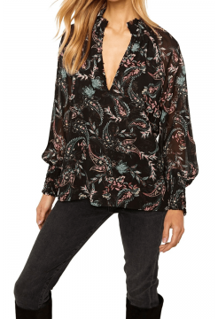 Alexis Blouse - Enchanted Paisley