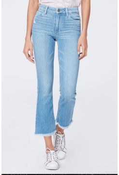 PAIGE JEANS CROP FLARE