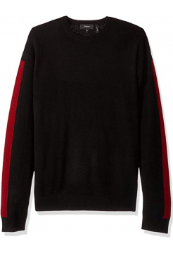 THEORY CASHMERE RED STRIPE