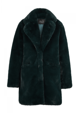 Chiara Faux Fur Coat - Emerald
