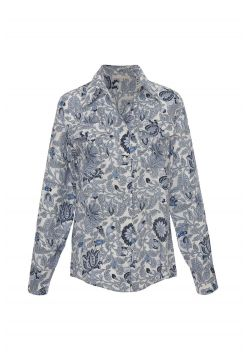 Paisley Shirt - Blue