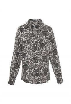 Paisley Shirt - Black