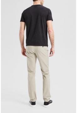 Essential Cotton Burnout T-Shirt - Black