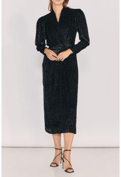 Xonina Dress - Black/Grey