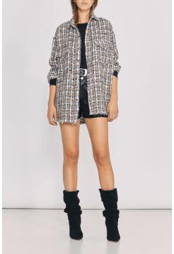 Bleoma Shirt - Beige Multi