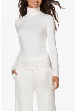 Chloe Turtleneck T-Shirt - White