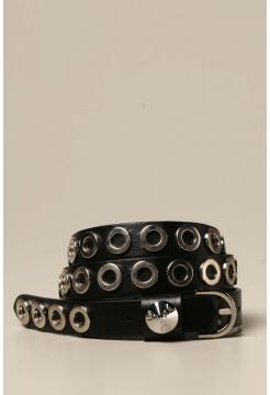 Eyelet Belt - Black