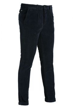 Jumbo Cord Trousers - Navy