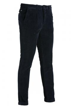 Jumbo Cord Trousers - Navy