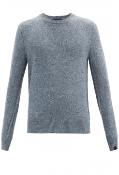 Scout Crew Neck Sweater - Denim Blue