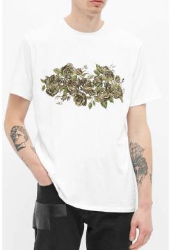 Floral Camo Tee - White