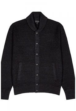 Cardiff Wool Bomber - Charcoal