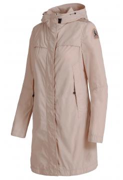 Long Parka Flyweight Jacket - Powder Pink
