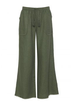 GOLD HAWK LINEN PANTS