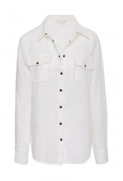 GOLD HAWK LINEN SHIRT