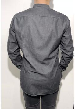 Chambray Shirt - Denim Black