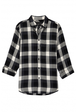 Lennox Slim Fit Shirt - Black Twilight Sand