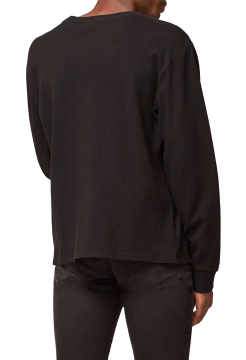 Long Sleeve Crew T-Shirt - Black