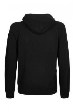 Knitted Hoody - Black
