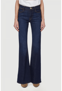 Le Pixie High Flare Jeans - Southerland Mid Denim