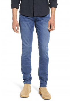 Croft Skinny Fit Jeans - Shores Blue Denim