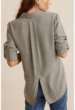 BELLA  DAHL SPLIT BACK SHIRT