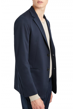 Tech Cotton Semi Fitter Blazer - Eclipse Navy