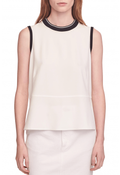 Thatch Tank Top - White