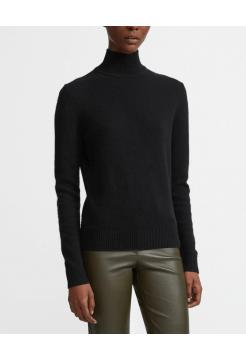 Cashmere Turtle Neck Sweater - Black