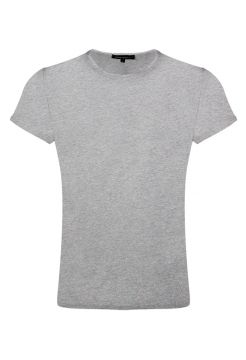 Short Sleeve Crew Neck T-Shirt - Grey
