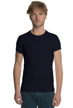 Short Sleeve Crew Neck T-Shirt - Navy