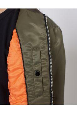 Morton Bomber Jacket - Khaki