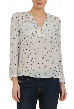 Windsor Stars Silk Shirt - Blue Seabreeze