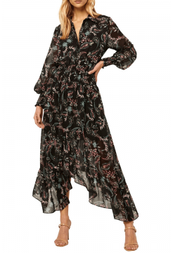 Zahra Long Dress - Enchanted Paisley